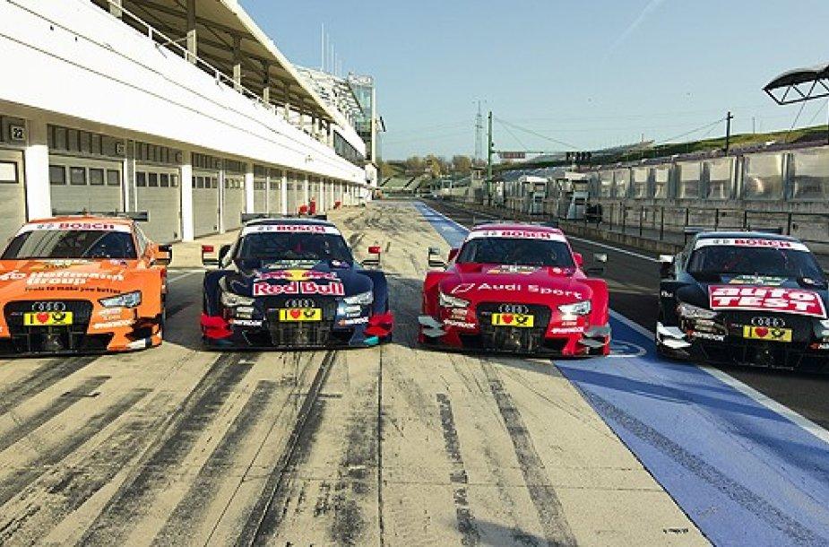 """Audi Sport"" komandos automobiliai"