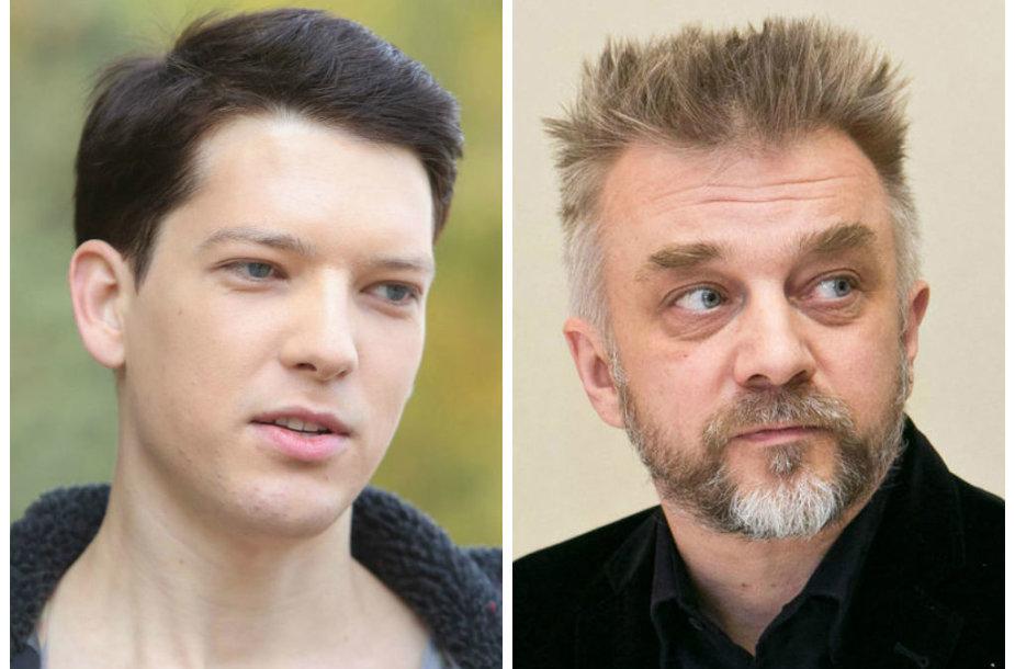 Romas Zabarauskas ir Andrius Mamontovas