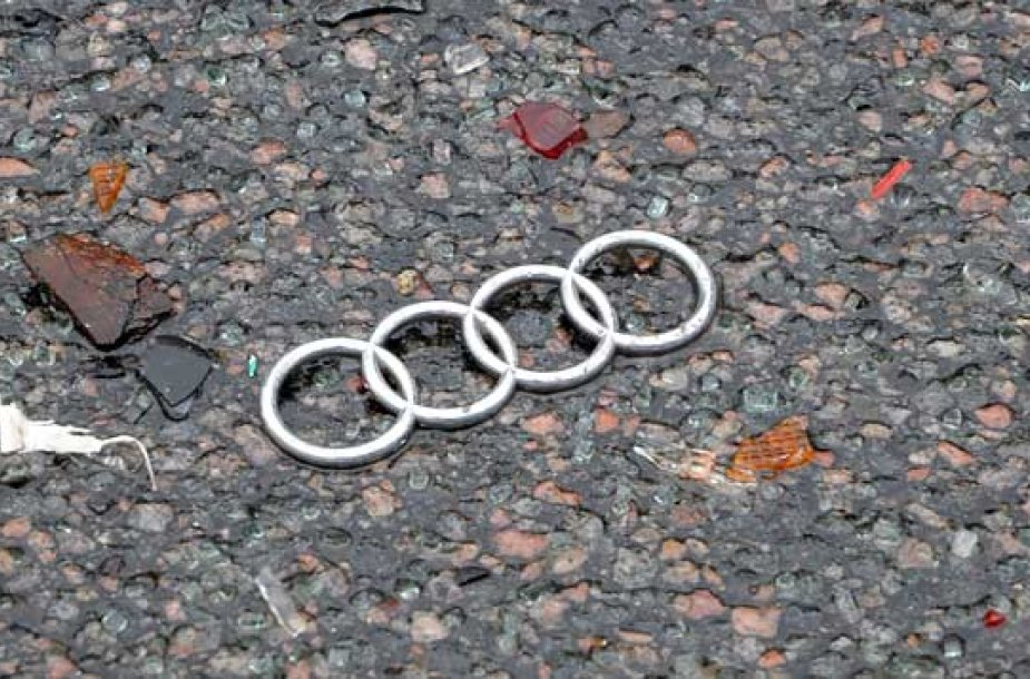 Audi, avarija