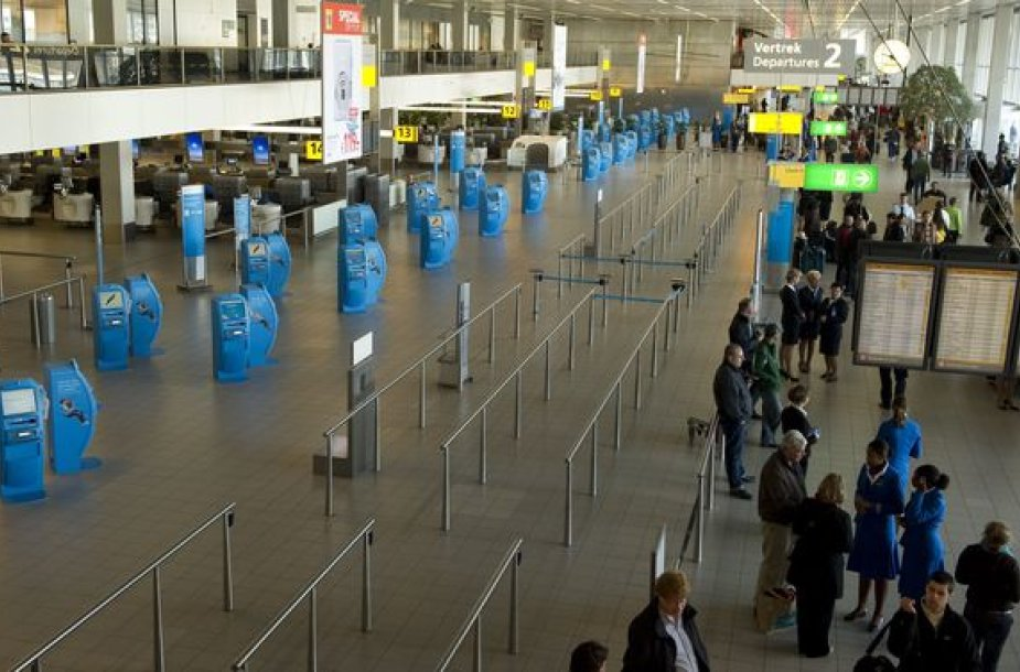 Amsterdamo oro uostas