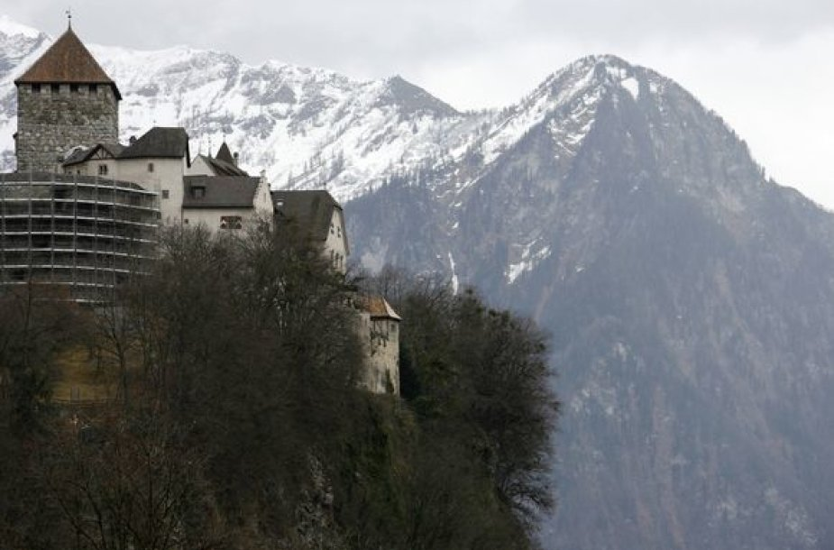 Lichtenšteinas – priebėga tų, kurie nenori mokėti mokesčių.