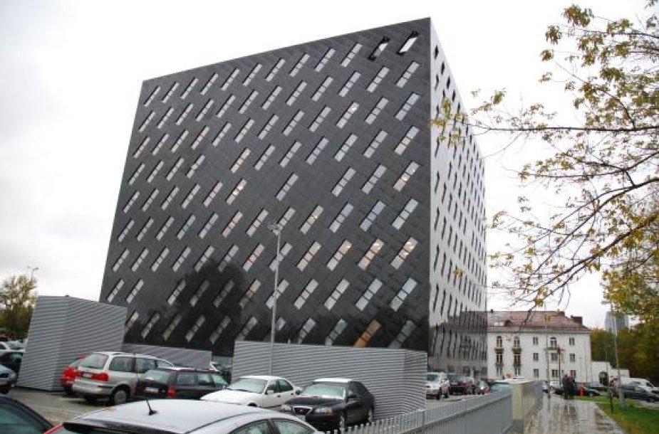 87 milijonus litų kainavęs prokuratūros pastatas.