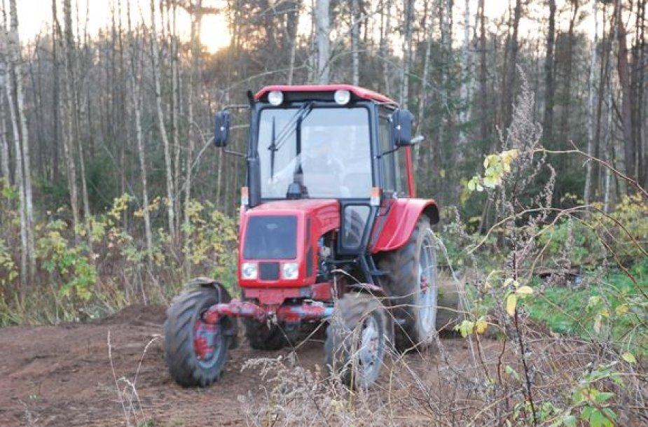 Baltarusiškas traktorius MTZ