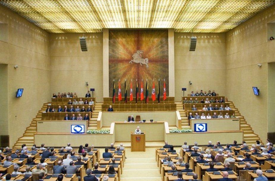 Didžiųjų netekčių 70-mečio minėjimas Seime