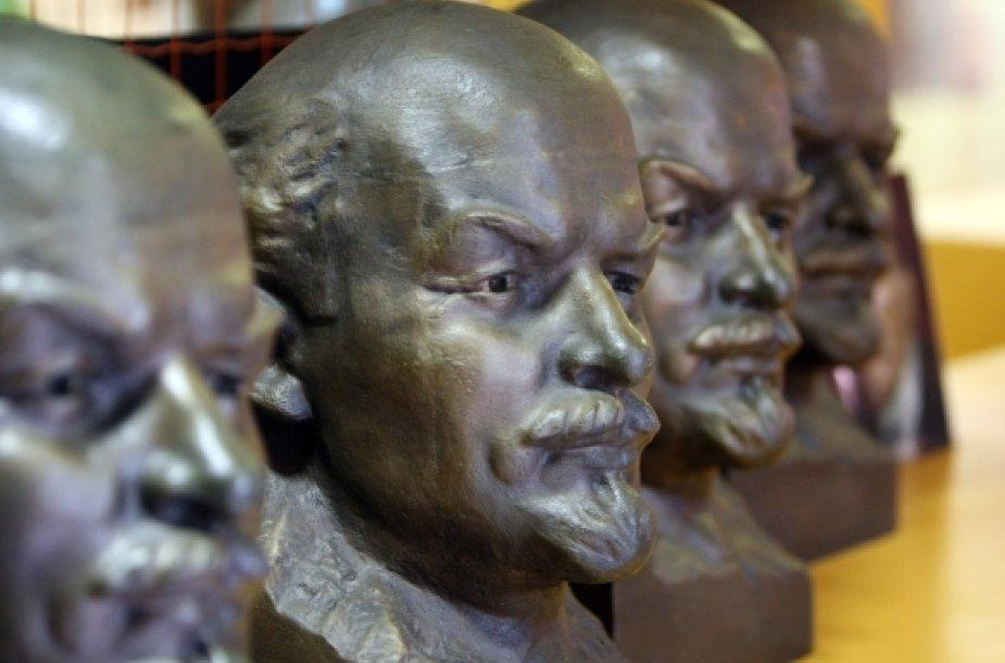 Lenino biustai