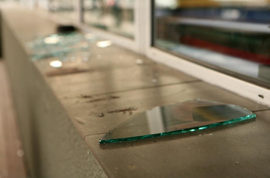 Išdaužtas stiklas