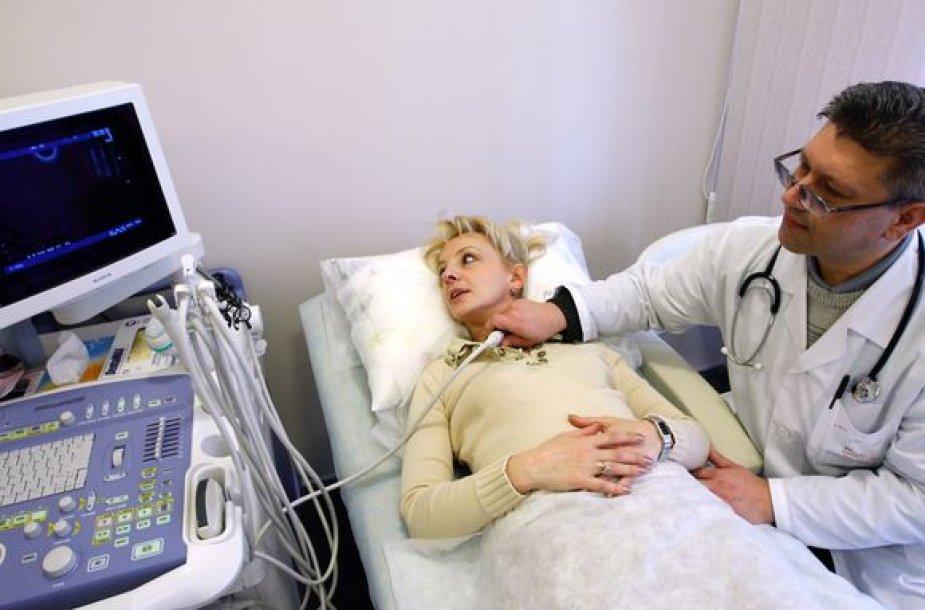 Skydliaukės ultragarso tyrimas