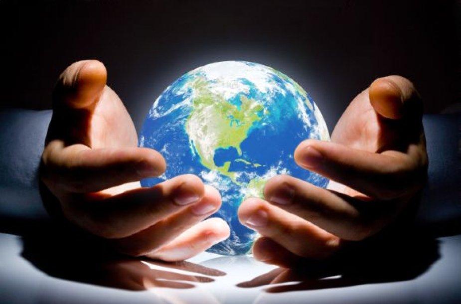Žemė žmogaus rankose