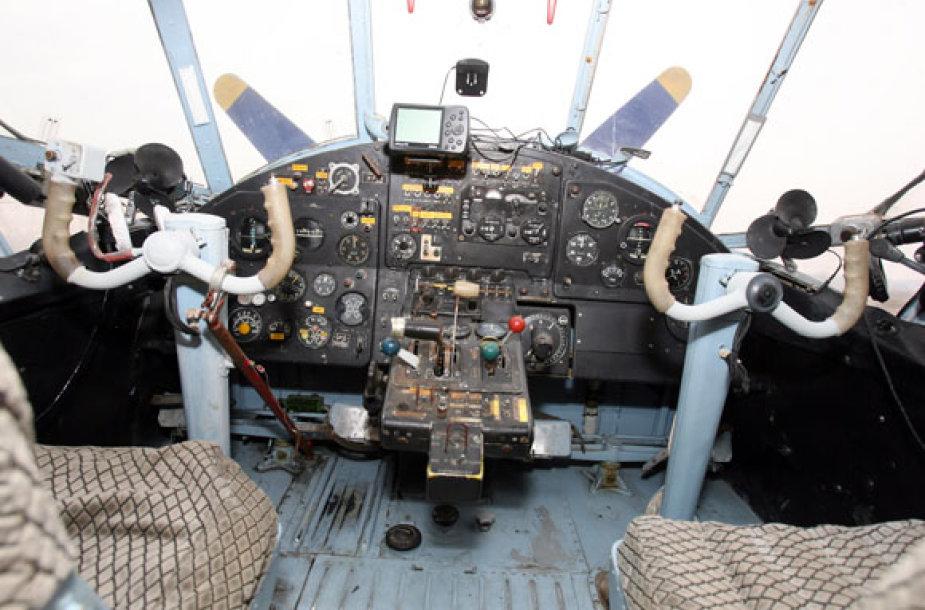 Lėktuvo kabina