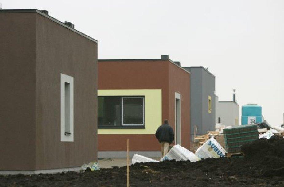 Pakaunėje statomi namai it magnetas traukia statybinių medžiagų, įrankių ir įrangos vagis.