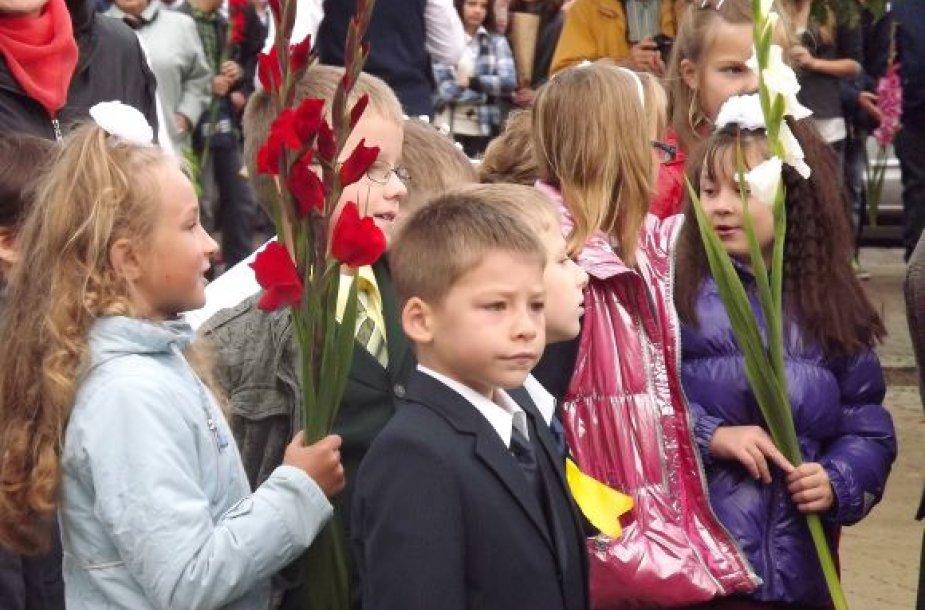 Rugsėjo 1-osios šventė Klaipėdoje.