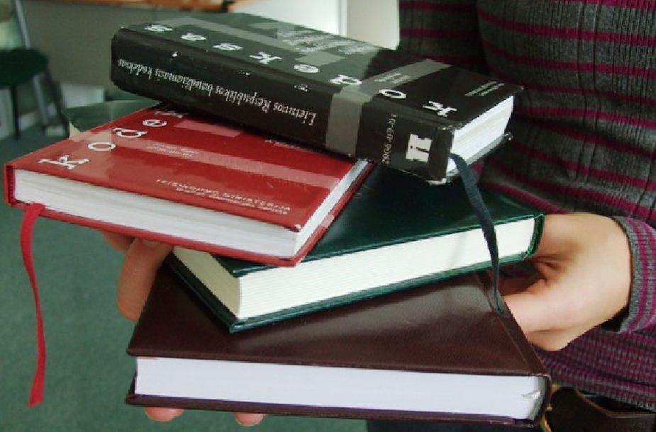 Nemokamos teisinės pagalbos pageidauja daugybė klaipėdiečių.