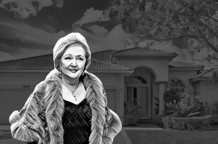 Kristina Brazauskienė teigia nieko nežinanti apie šį turtą Floridoje