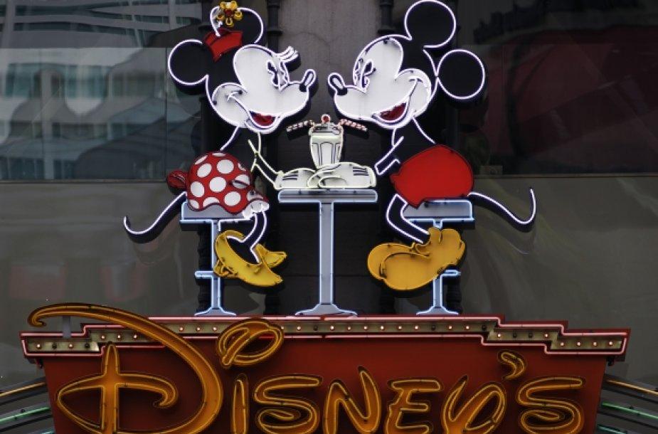 """""""Walt Disney"""" logotipas"""