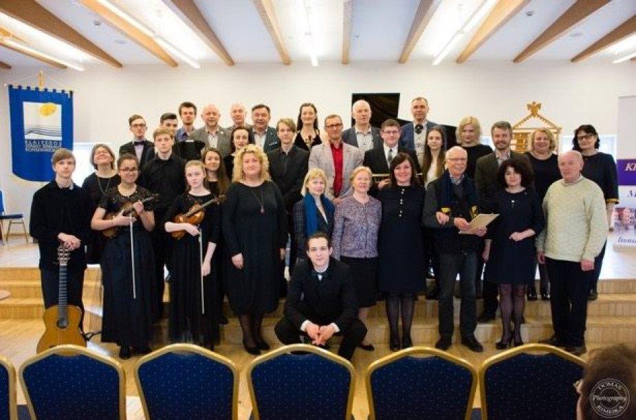 """Paramos koncerte-atrankoje """"Muzika ir viltis"""" išdalyta parama jauniesiems muzikantams"""