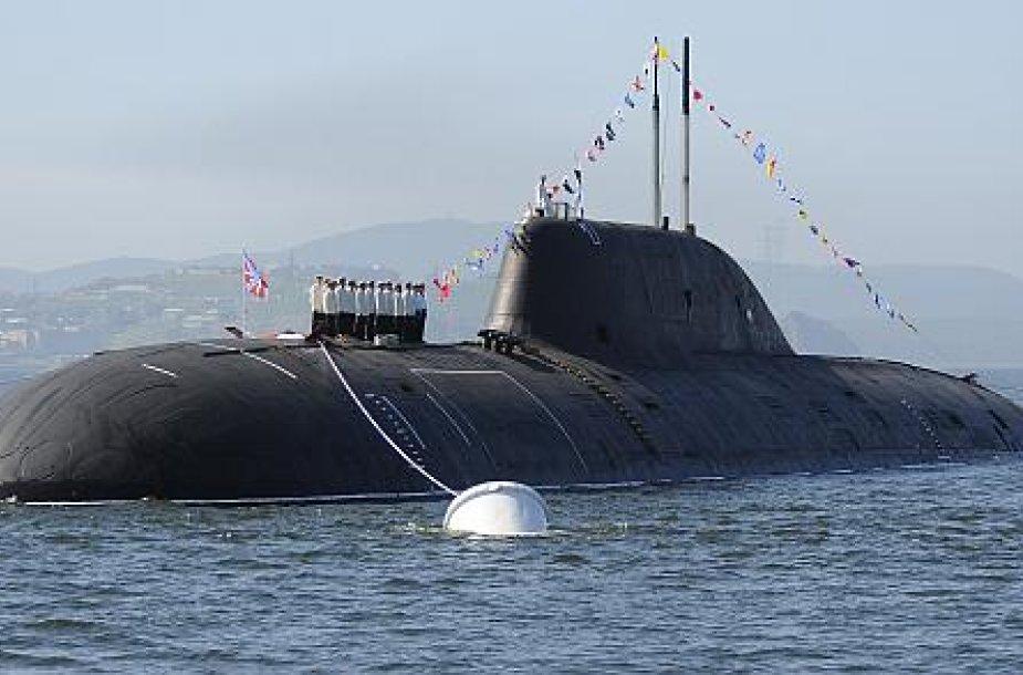 Rusijos povandeninis laivas