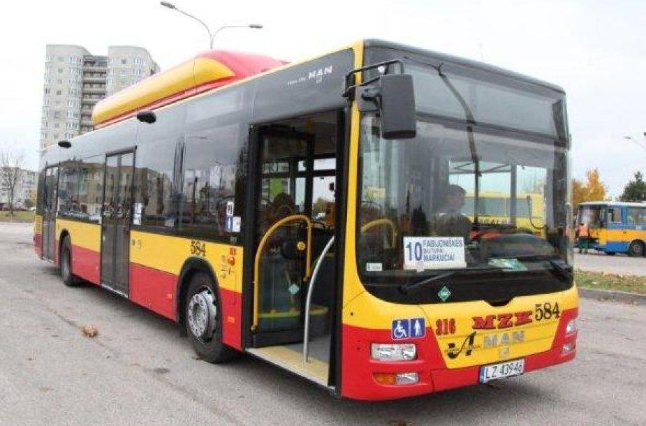 Ekologiškas autobusas