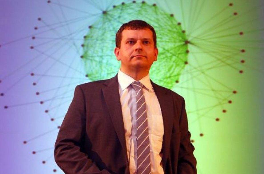 RRT Tinklų ir informacijos saugumo departamento direktorius Rytis Rainys.