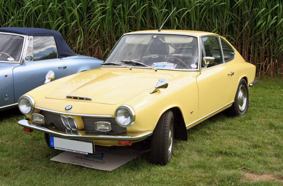 BMW 1600 GT – iš esmės, tai tas pats Glas. (Abehn, Wikimedia)