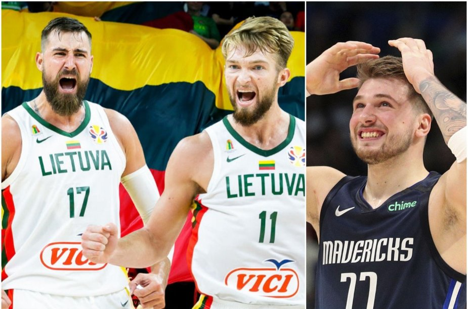 Jonas Valančiūnas, Domantas Sabonis ir Luka Dončičius – ar NBA neatims jų galimybės žaisti olimpiniame atrankos turnyre?