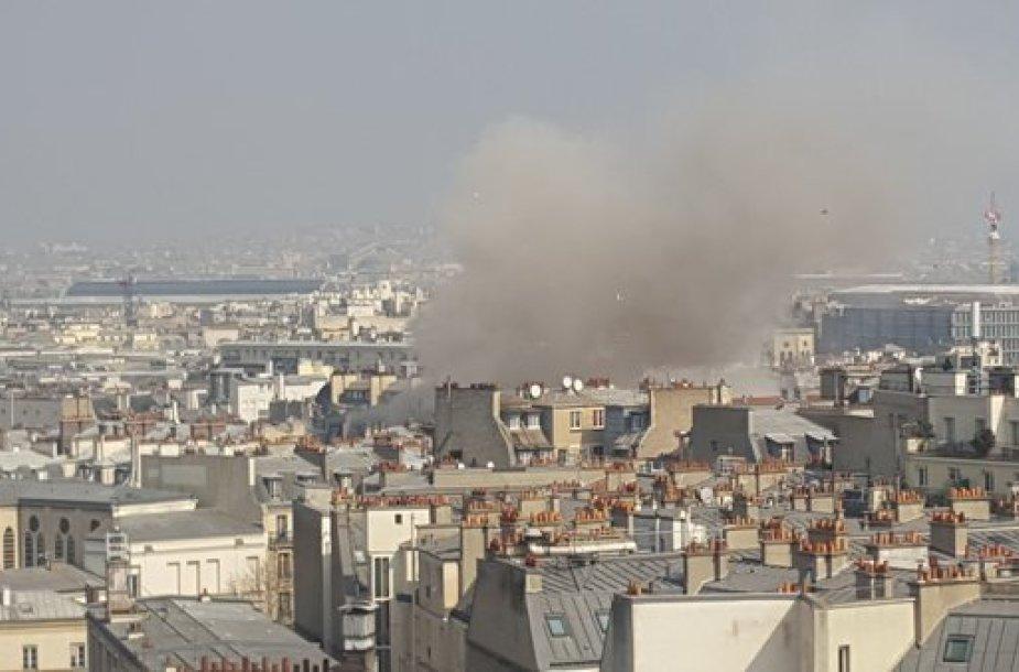 Sprogimas Paryžiuje