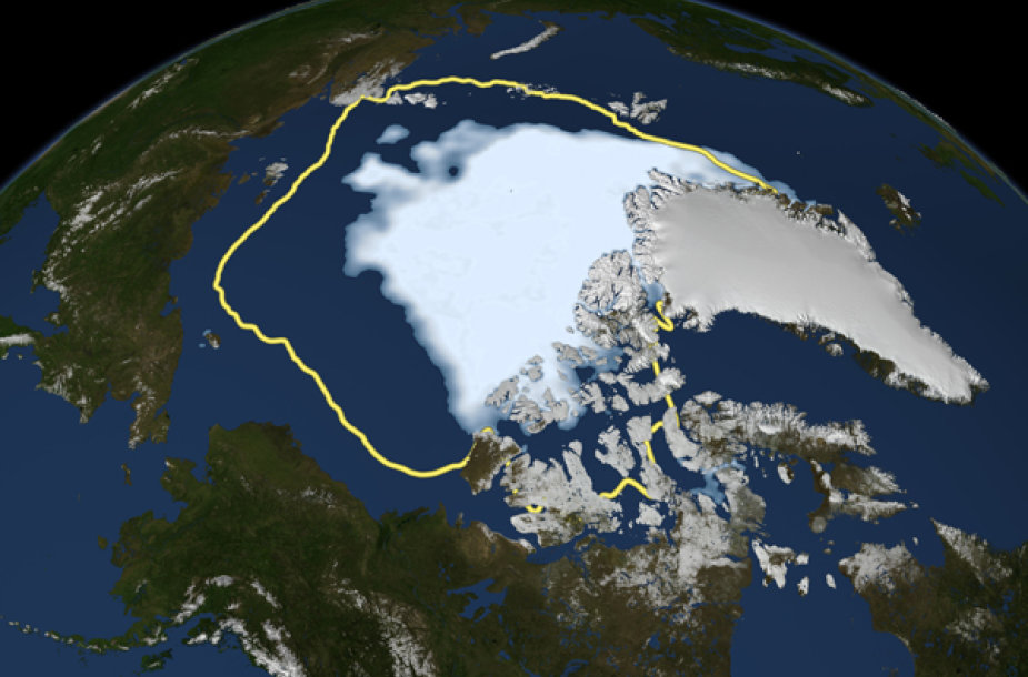Tirpstantys Arkties ledynai