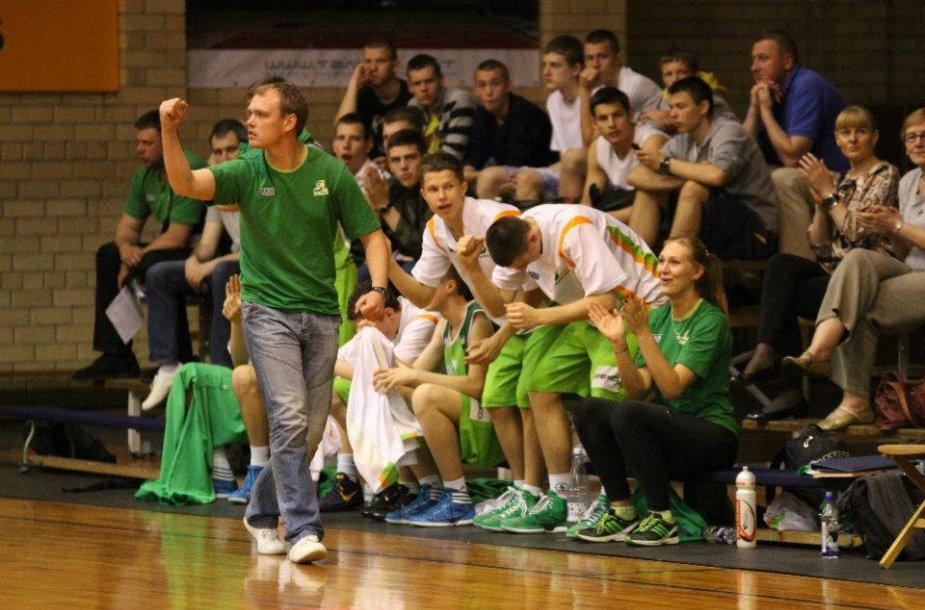 Kauno Sabonio krepšinio centro treneris Dalius Lubys