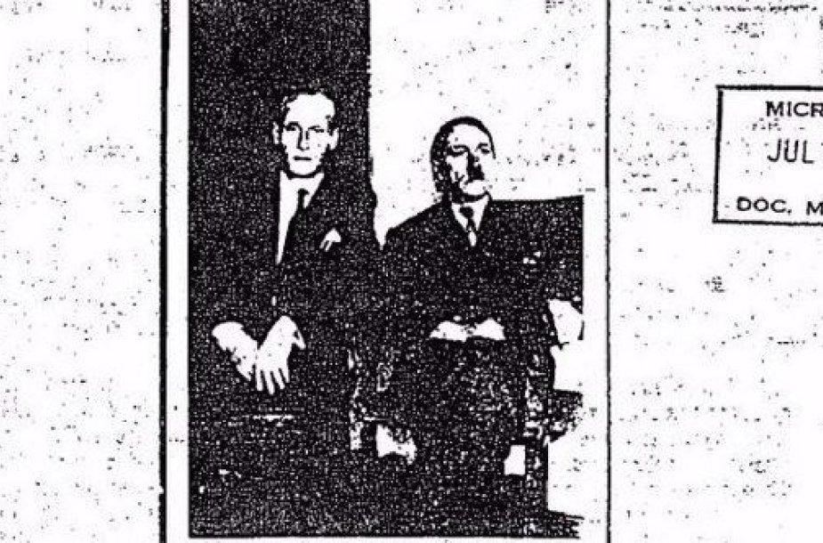 """Ph.Citrenas ir """"Adolfas Hitleris"""" Kolumbijoje"""