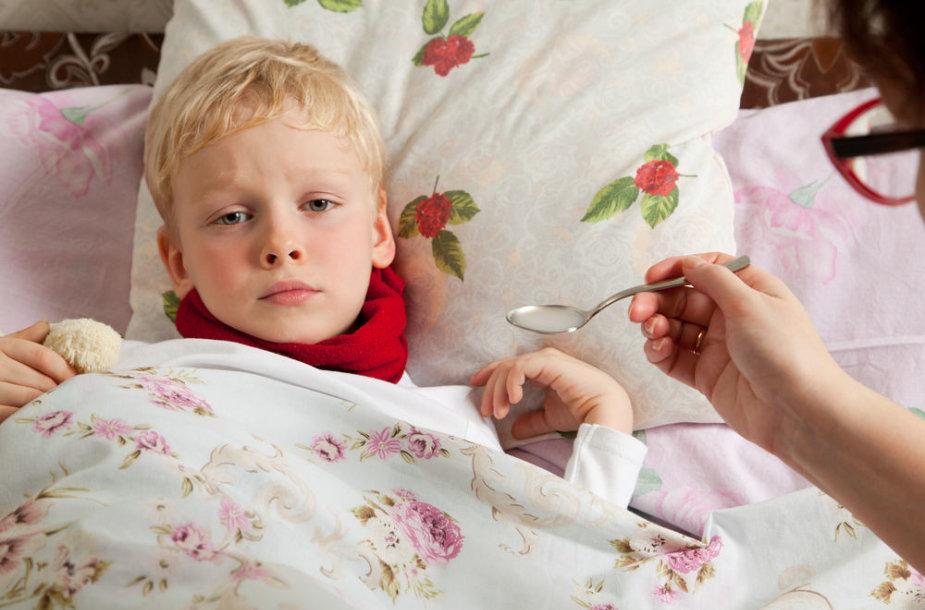 Peršalęs vaikas
