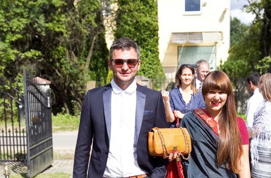 Ingrida Navickaitė ir Darius Tolušis