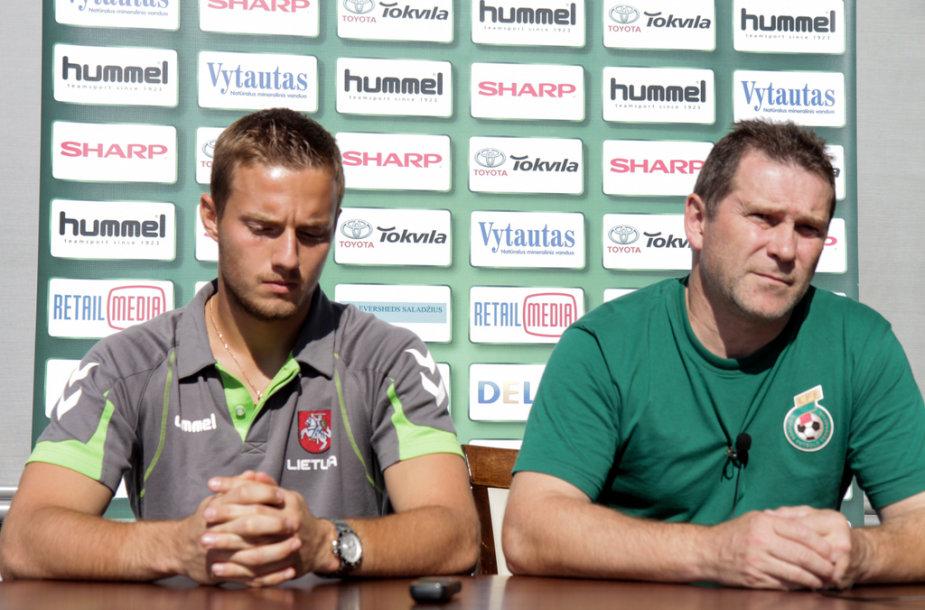 Tomas Švedkauskas ir Arminas Narbekovas