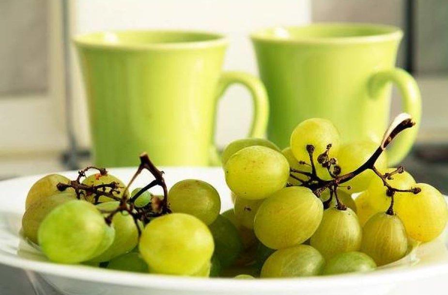 Vynuogių dieta ir skani, ir naudinga