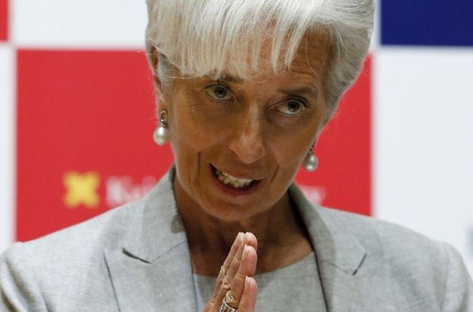 8 vieta – tarptautinio valiutos fondo vadovė Christine Lagarde