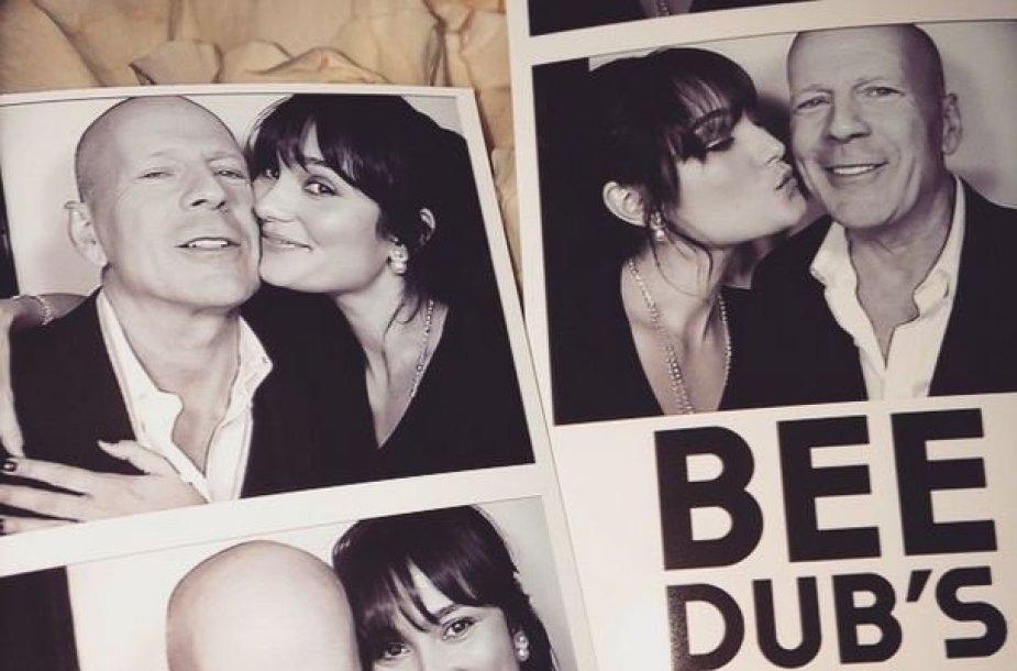 Bruceas Willisas ir Emma Herming