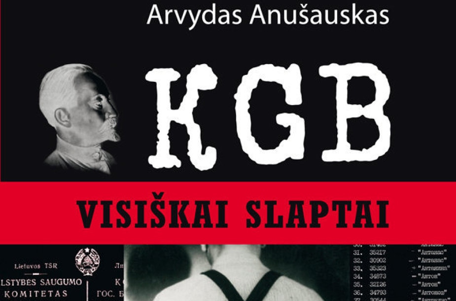 "A.Anušausko knyga ""KGB.Visiškai slaptai"