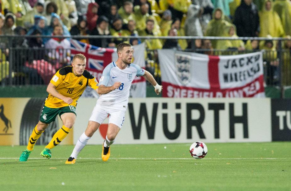 Pasaulio čempionato atranka: Lietuva – Anglija
