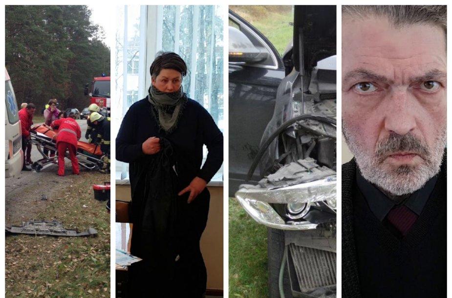 """Advokatas Gediminas Milevičius (nuotr. dešinėje) viliasi, kad jo ginamoji bus išteisinta, o tuomet tyrėjai galės grįžti prie """"Audi"""" vairuotojo atsakomybės klausimo."""