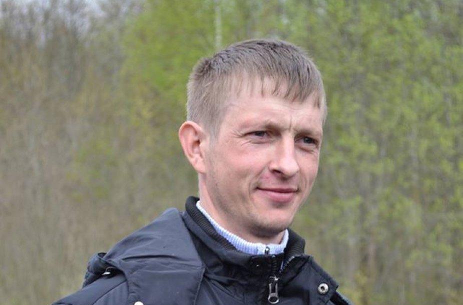 Ugniagesys savanoris Arūnas Jančiūra
