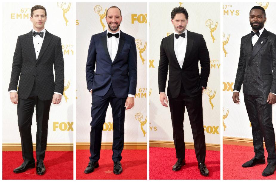 Andy Sambergas, Tony Hale'as, Joe Manganiello ir Davidas Oyelowo