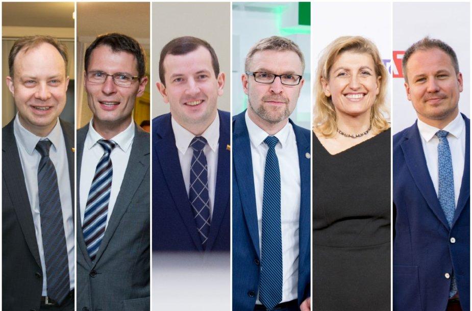 VTEK tiriami ministrai