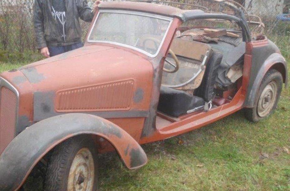 Senovinis automobilis DKW-2
