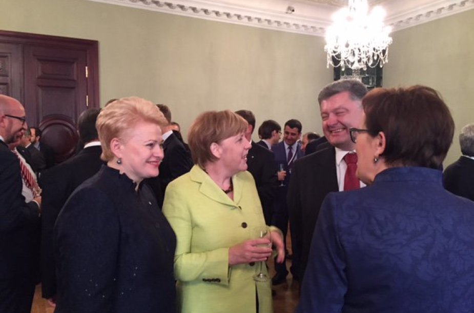 Prezidentė Dalia Grybauskaitė Rytų partnerystės viršūnių susitikime Rygoje