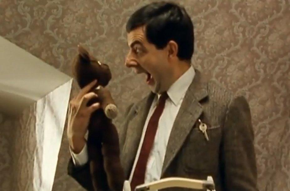 Pasirodo, kad Ponas Bynas – ne vienintelis iš britų miega su meškiuku.