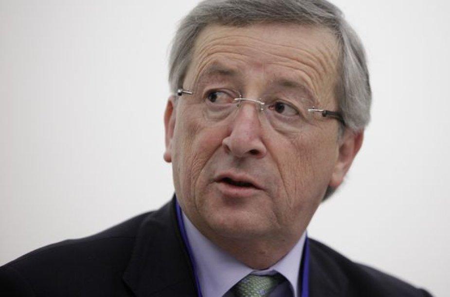 Eurogrupės vadovas Jeanas-Claude'as Junckeras