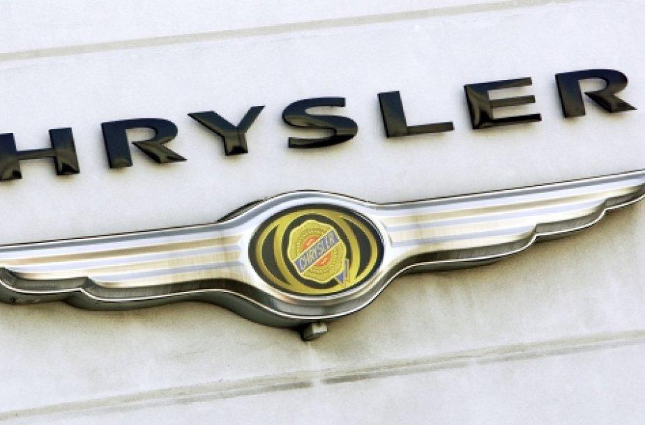 """""""Chrysler"""" logotipas"""