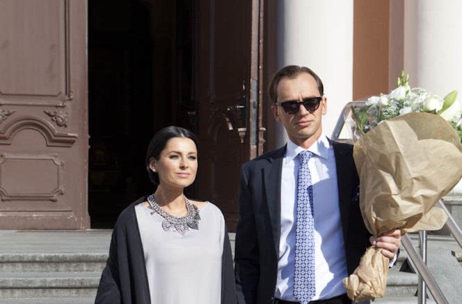 Agnė Jagelavičiūtė ir Mantas Volkus