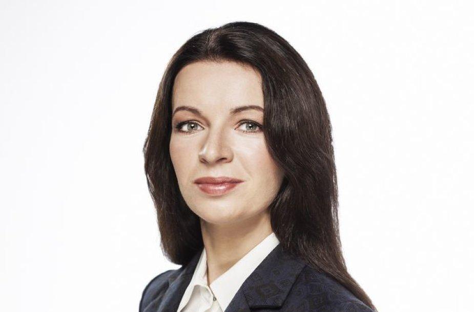 """UAB """"TELE-3"""" generalinė direktorė Laura Blaževičiūtė"""