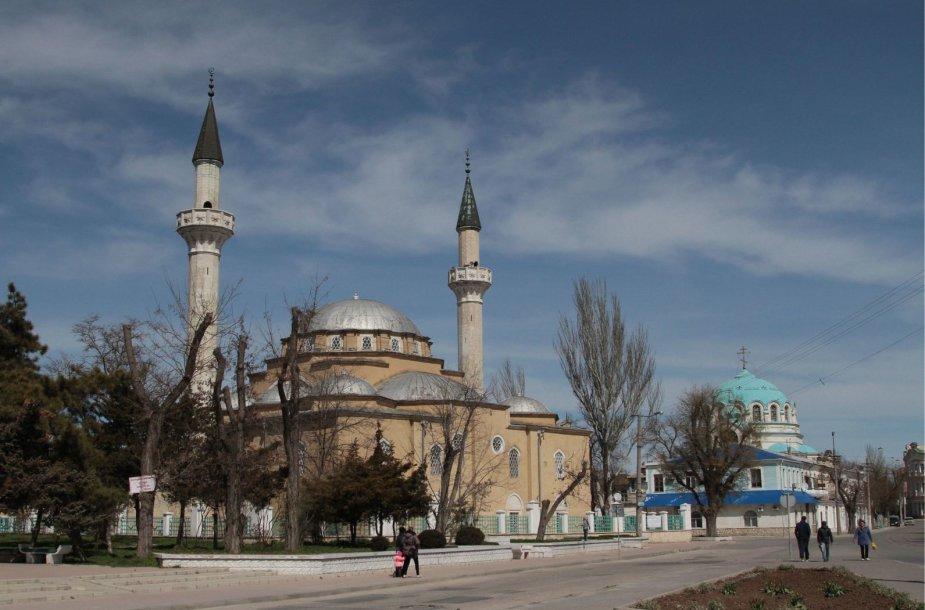 Eupatorijos miestas Kryme