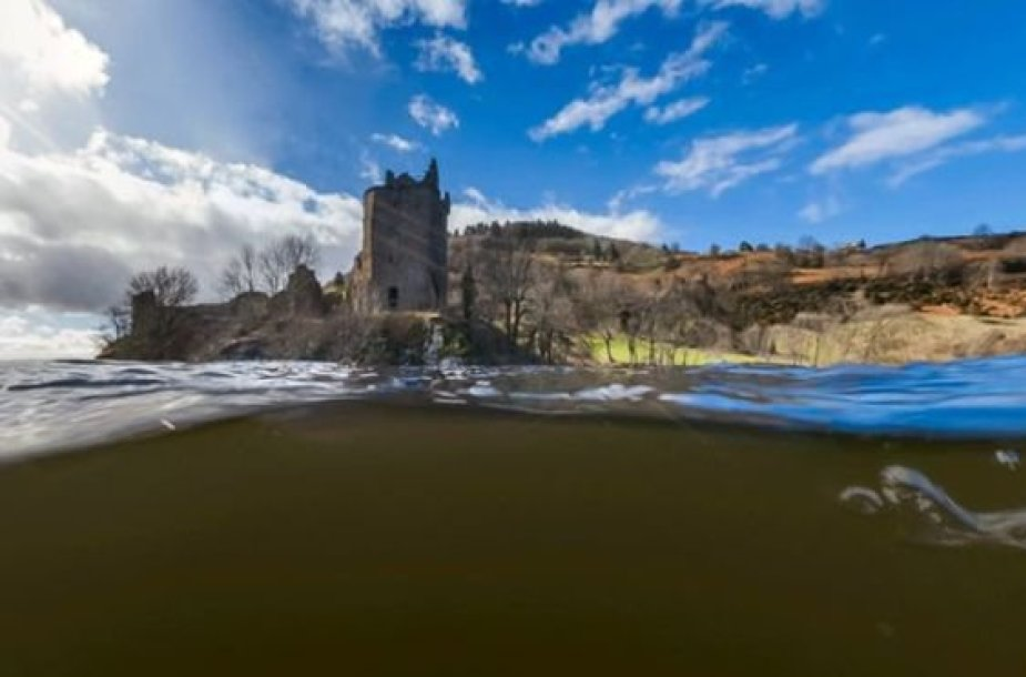 "Lochneso ežeras ""Google Street View"""