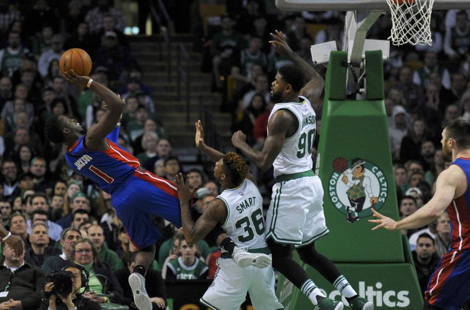 Gražiausios trečiadienio NBA rungtynių akimirkos